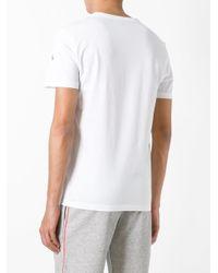 Moncler White Shark Print T-shirt for men
