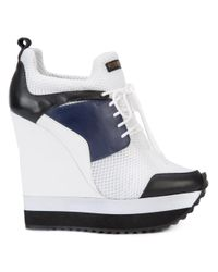Ruthie Davis White Tech Sneakers