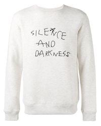 Soulland - White Silence Sweatshirt for Men - Lyst