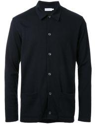 Sunspel | Black - Patch Pockets Cardigan - Men - Merino - S for Men | Lyst