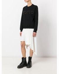 MSGM Black Tokyo Sweatshirt