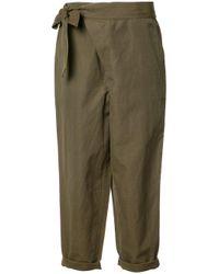 Ulla Johnson Green - Adela Trousers - Women - Cotton/linen/flax - 6