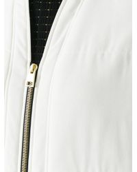 Lanvin | Multicolor Sleeveless Elongated Bomber Coat | Lyst
