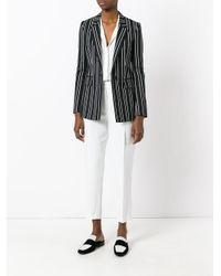 Brunello Cucinelli White Cropped Trousers