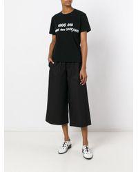 Comme des Garçons Black Re-edition 1986 Staff T-shirt for men