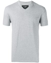 Hydrogen - Gray V-neck T-shirt for Men - Lyst