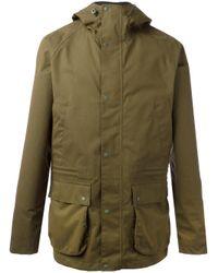 Barbour | Green Downpour Jacket for Men | Lyst