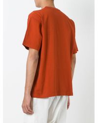 Golden Goose Deluxe Brand Orange T-shirt for men