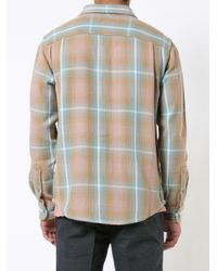 Outerknown | Brown Heavy Checked Shirt for Men | Lyst
