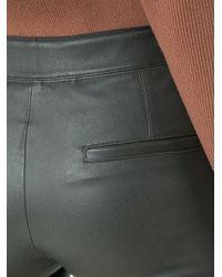 Helmut Lang | Black Leather Leggings | Lyst