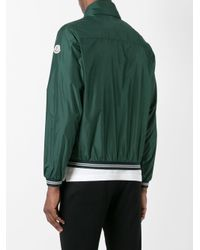 Moncler Green Lamy Bomber Jacket for men