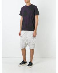 Rick Owens - Gray Drop-crotch Cargo Shorts for Men - Lyst