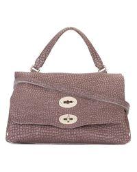 Zanellato | Brown Textured Tote Bag | Lyst