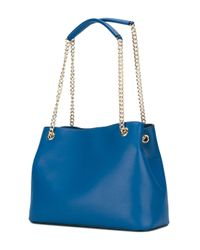 Love Moschino - Blue Heart Shoulder Bag - Lyst