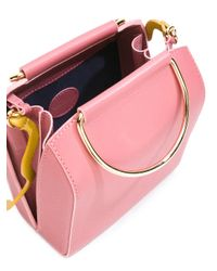 ROKSANDA Pink Waves Crossbody Bag