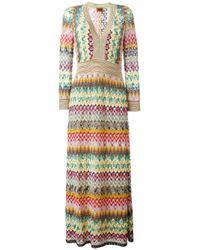 Missoni | Multicolor Zig Zag Dress | Lyst
