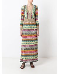 Missoni - Multicolor Zig Zag Dress - Lyst
