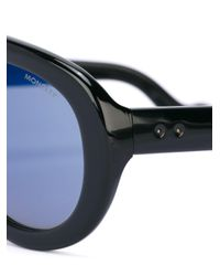 Moncler Black Blanche Sunglasses for men