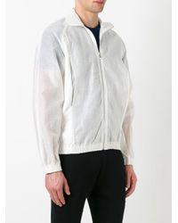 Cottweiler | White Semi-sheer Sleeves Bomber Jacket for Men | Lyst