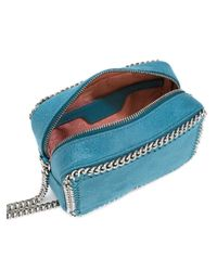Stella McCartney Blue Falabella Cross-body Bag