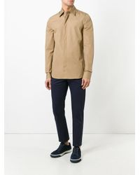 Marni | Natural Concealed Placket Shirt for Men | Lyst