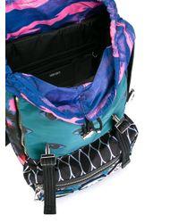 KENZO Multicolor Multi Icon Backpack for men