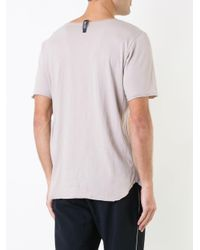 Factotum Pink Crew Neck T-shirt for men