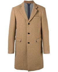 DIESEL | Brown Single-breasted Coat for Men | Lyst