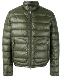 29d42868c sleek f2a9a 08c66 lyst moncler acorus quilted coat in green for men ...