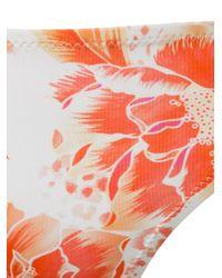 Evarae | White Floral Print Bikini Bottom | Lyst