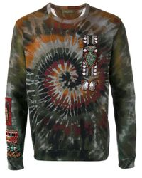 Valentino - Multicolor Tie-dye Swirl Sweatshirt for Men - Lyst