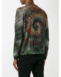 Valentino | Multicolor Tie-dye Swirl Sweatshirt for Men | Lyst