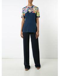 Jason Wu - Blue Floral Print T-shirt - Lyst