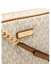 MICHAEL Michael Kors - Multicolor Logo Print Handbag - Lyst