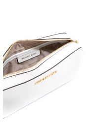 MICHAEL Michael Kors | White Logo Plaque Handbag | Lyst