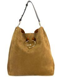 J.W. Anderson | Brown Slouchy Hobo Bag | Lyst