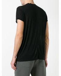 Rick Owens Drkshdw - Black Short Sleeve T-shirt for Men - Lyst