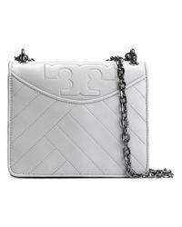 Tory Burch | Gray Alexa Convertible Shoulder Bag | Lyst