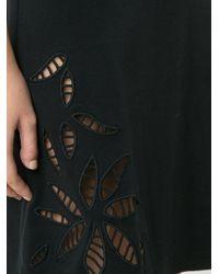 See By Chloé Black Shift Dress