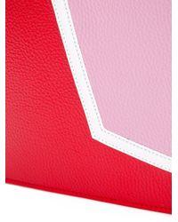 MSGM - Pink Chain Handle Clutch - Lyst