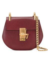 Chloé - Red Drew Small Shoulder Bag - Lyst