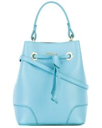 Furla | Blue Small Bucket Bag | Lyst