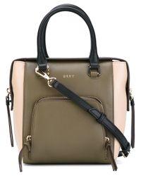 DKNY | Green - Contrast Cross Body Bag - Women - Leather - One Size | Lyst