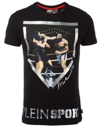 Philipp Plein   Black Muhammad Ali T-shirt for Men   Lyst