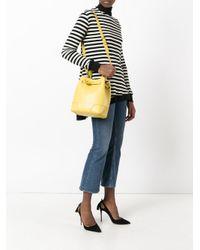 Furla - Yellow Medium Bucket Bag - Lyst