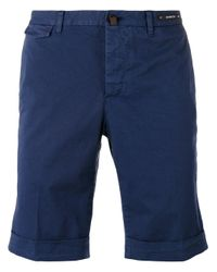 PT01 | Blue Chino Shorts for Men | Lyst