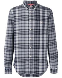 Paul by Paul Smith | Black Checked Shirt for Men | Lyst