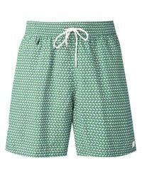 Ferragamo   Green - Whale Print Swim Trunks - Men - Polyamide - One Size for Men   Lyst