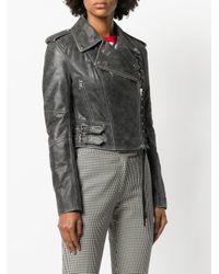 McQ Alexander McQueen Gray Jacket
