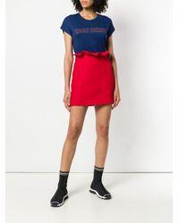 Zoe Karssen Blue You First Print T-shirt
